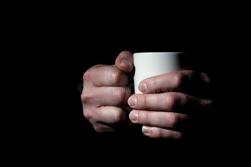 Hands Holding Mug Royalty Free Stock Photography