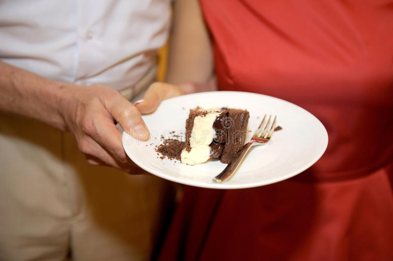 Download Wedding Chocolate Cake stock image. Image of dessert - 29753183