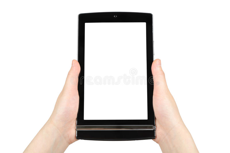Download Hands Holding Touch Screen Tablet Pc Stock Photo - Image: 31870390