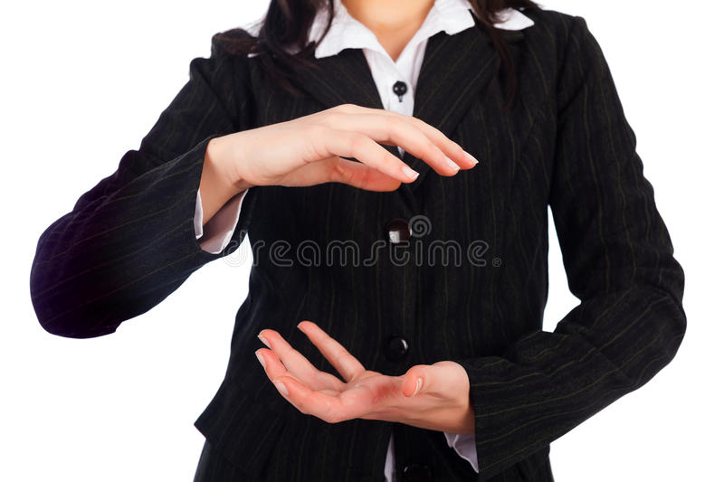Hands Holding royalty free stock photo