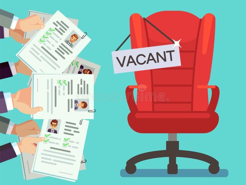 recruitment  recruiter choosing candidates with female cv
