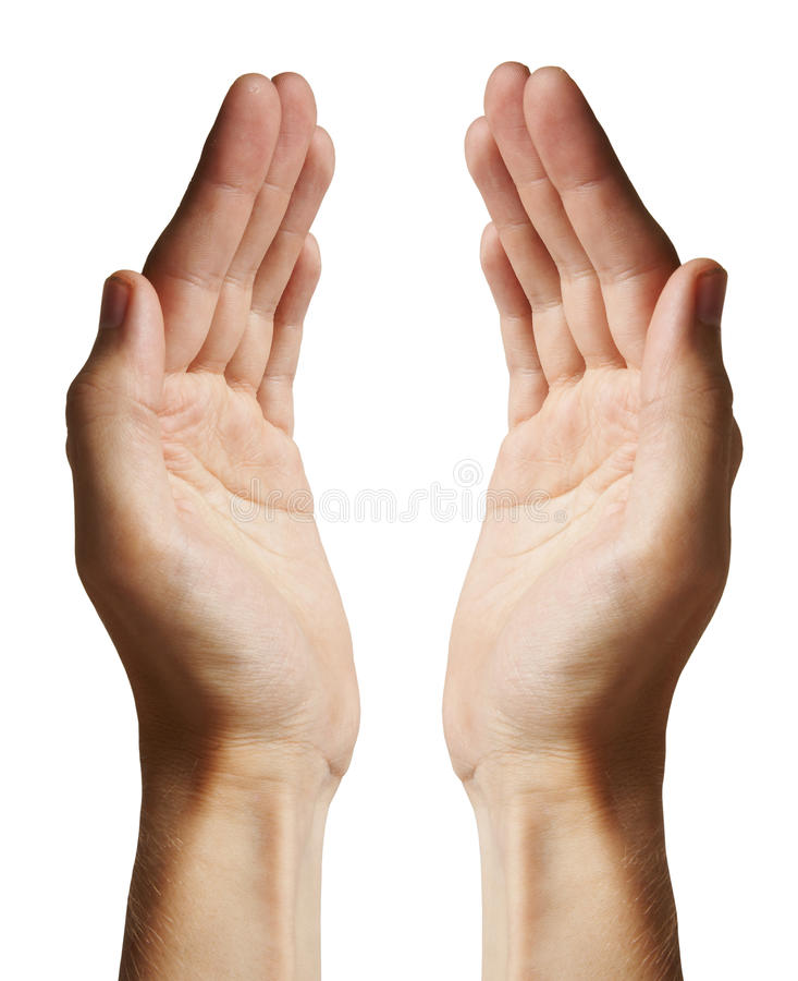 hands humanen arkivbild