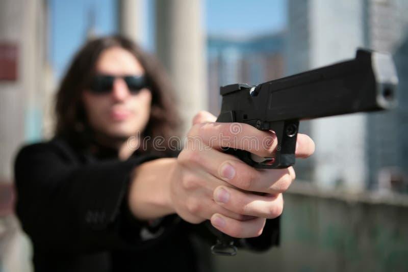 Download Hands of the killer stock photo. Image of danger, gangster - 8272496