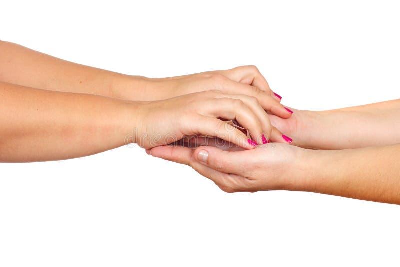 hands kvinnor royaltyfri foto