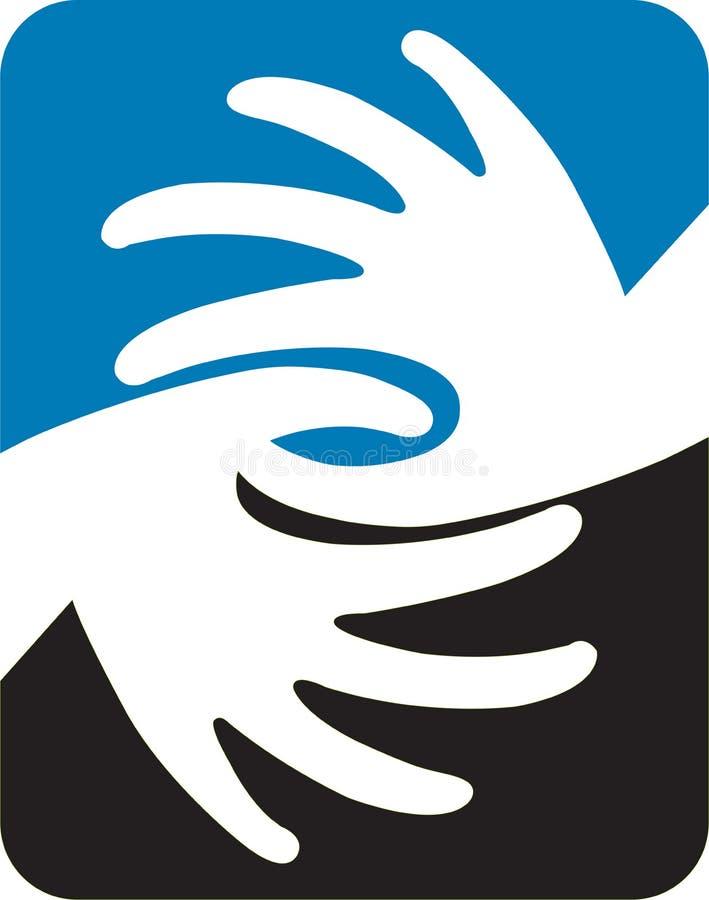 Download Hands Logo Stock Photo - Image: 26459120