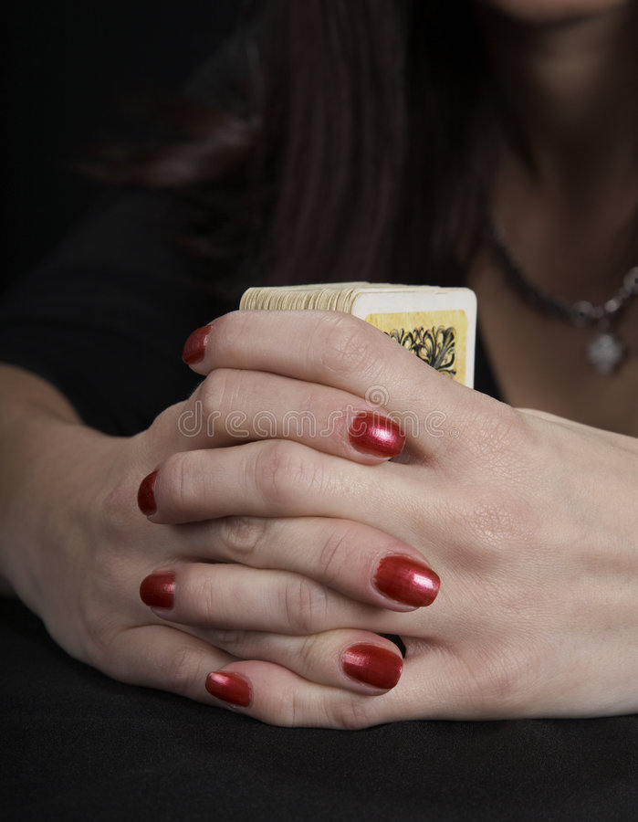 Free Hands Of The Fortuneteller Stock Photography - 7591012