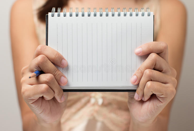 Hands open book royalty free stock images