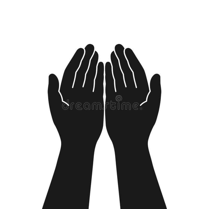 Cupped Hands Stock Illustrations – 643 Cupped Hands Stock