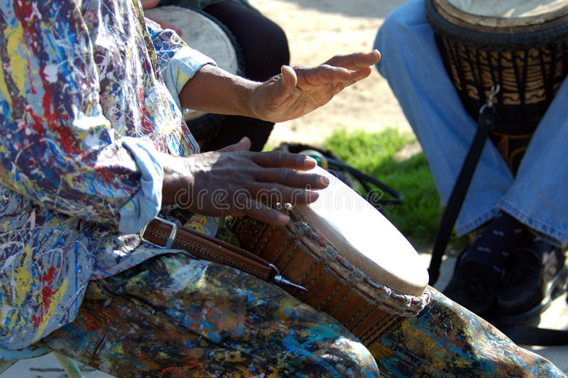 Download Hands of Peace 5 stock photo. Image of percussion, drum - 79528