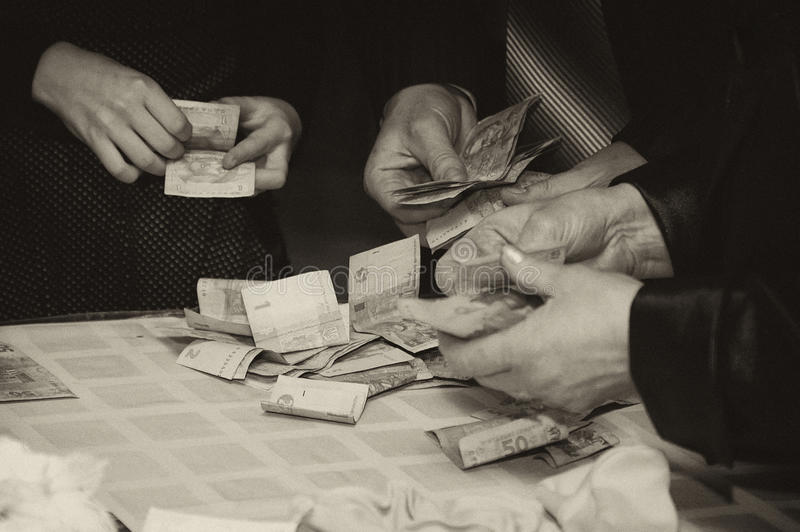 Download Hands Of People Holding Money Stock Photo - Image of people, protected: 12845118