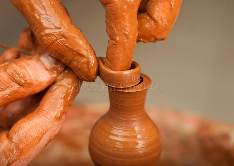 Download Hands Of A Potter Royalty Free Stock Photo - Image: 33695305