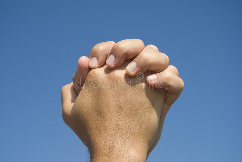 Download Hands in prayer gesture stock image. Image of comfort - 10623909