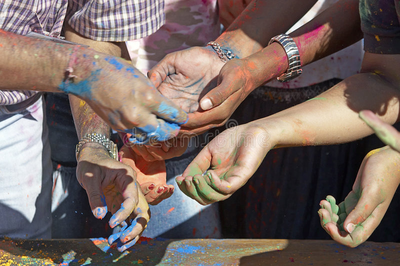 Download Hands Reaching Out stock image. Image of arms, watch, holi - 160899