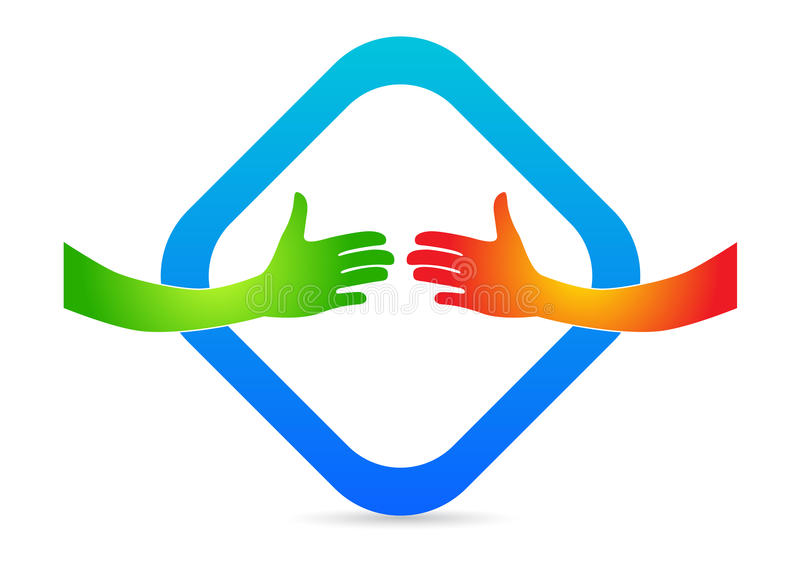 Download Hands ready to handshake stock vector. Illustration of commission - 23888232