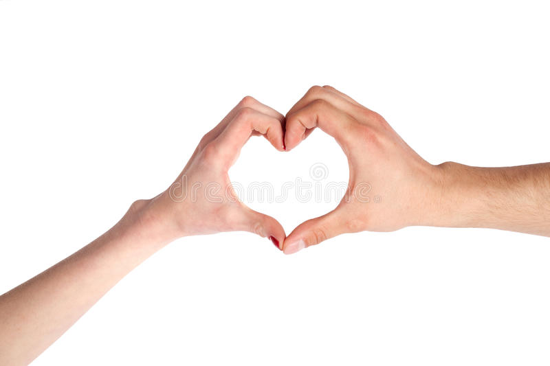 Download Hands Shaping a Heart stock image. Image of expression - 13708237