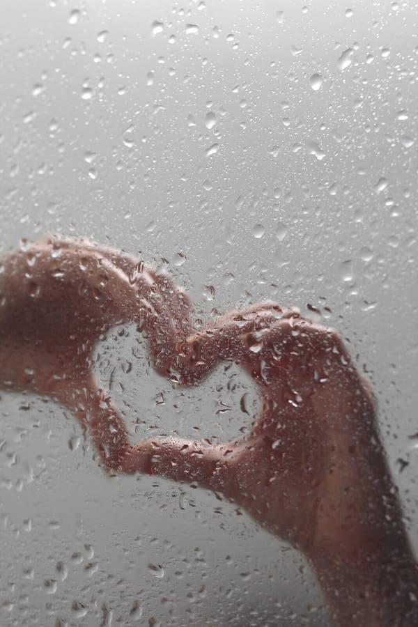Hands shaping heart