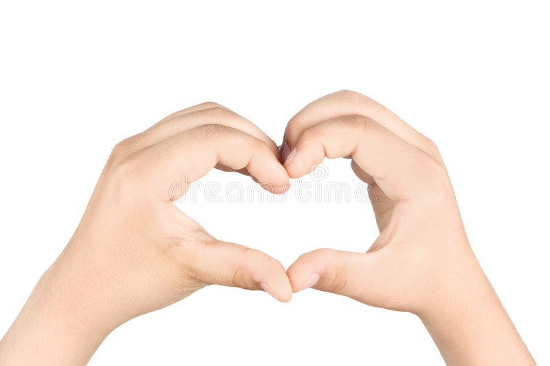 Download Hands shaping a heart stock photo. Image of relationship - 5429376