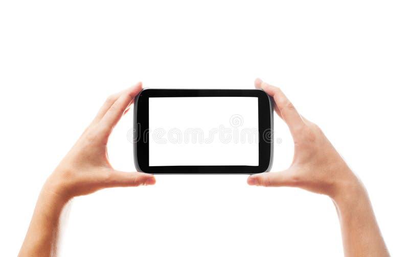 hands smartphone royaltyfria foton