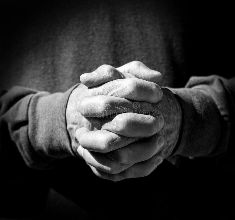 Hands of Strength stock images