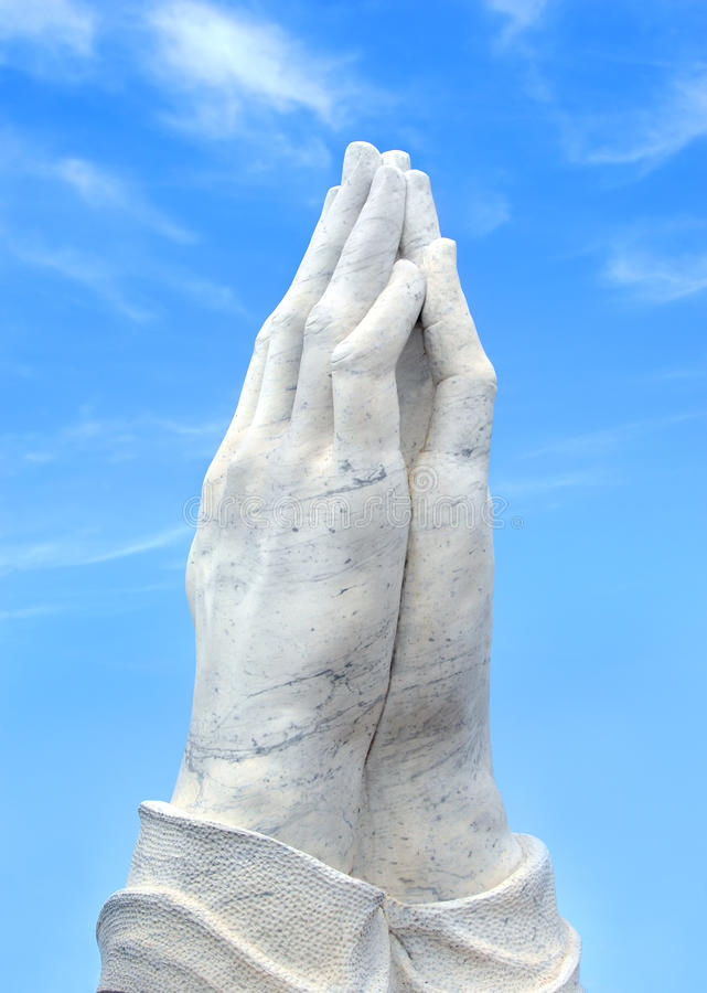 Hands In Supplication Royalty Free Stock Photography
