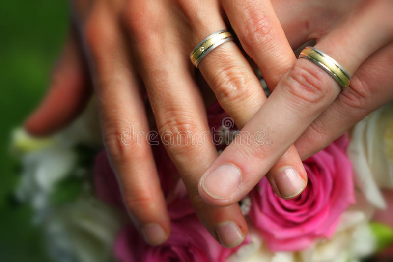 Hands Together Royalty Free Stock Photography