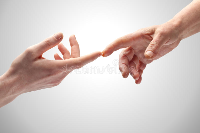 Download Hands Touching stock image. Image of meeting, peaceful - 17760637