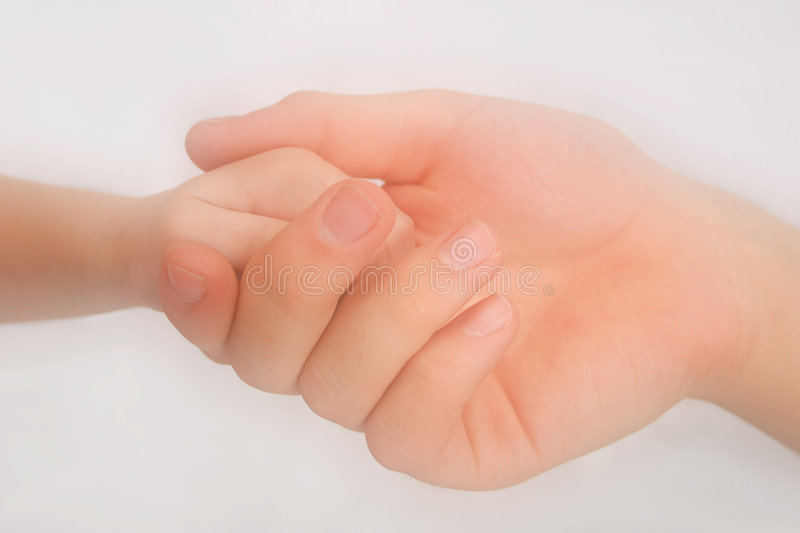 Hands Touching royalty free stock images