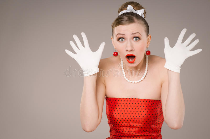 Download Hands up stock image. Image of expression, gesturing - 18424497