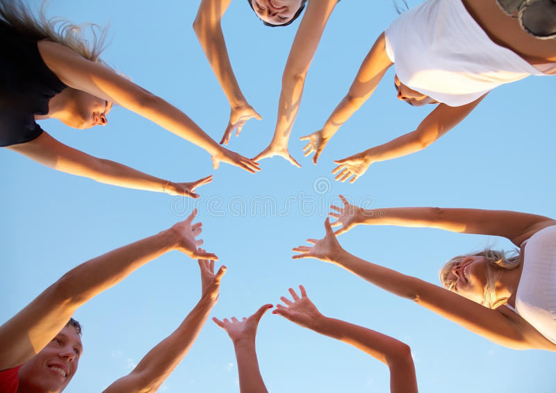 Download Hands Up Royalty Free Stock Images - Image: 18866749