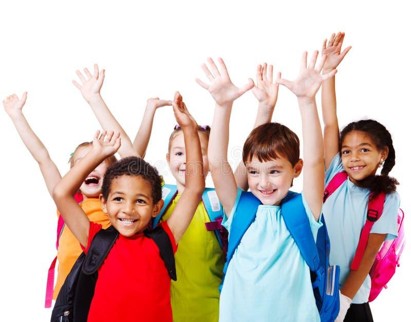 Hands up stock photos