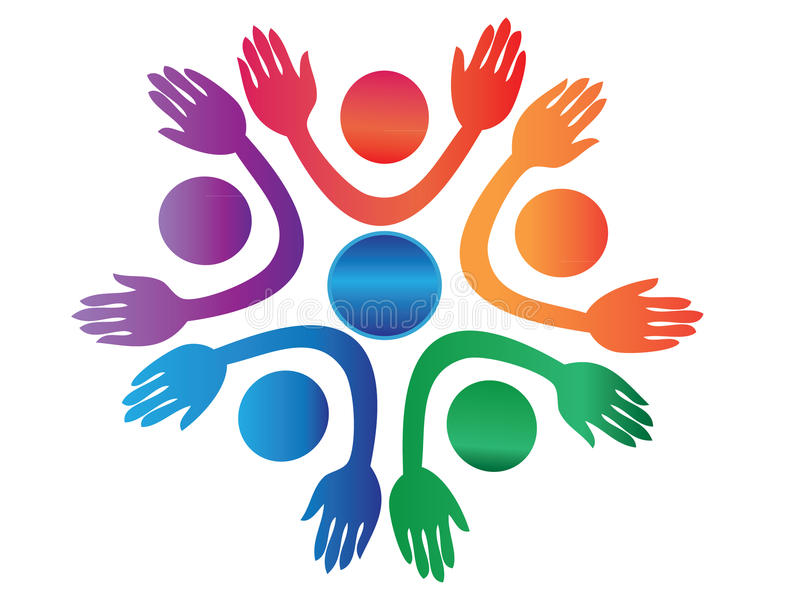 Download Hands Up Logo Vector Royalty Free Stock Images - Image: 19328489