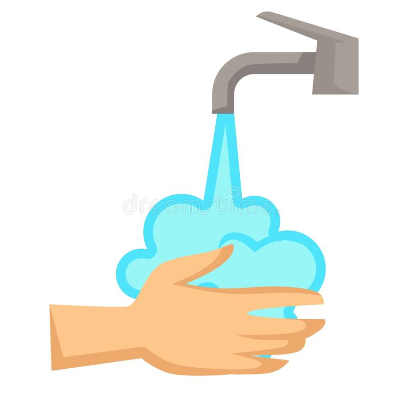 Free Hands Washing Hygiene And Cleanliness Water Tap Royalty Free Stock Photo - 137989025