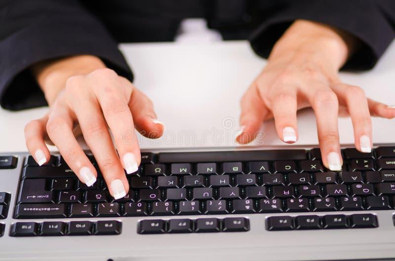 Download Hands working on  keyboard stock illustration. Illustration of electronics - 27175056