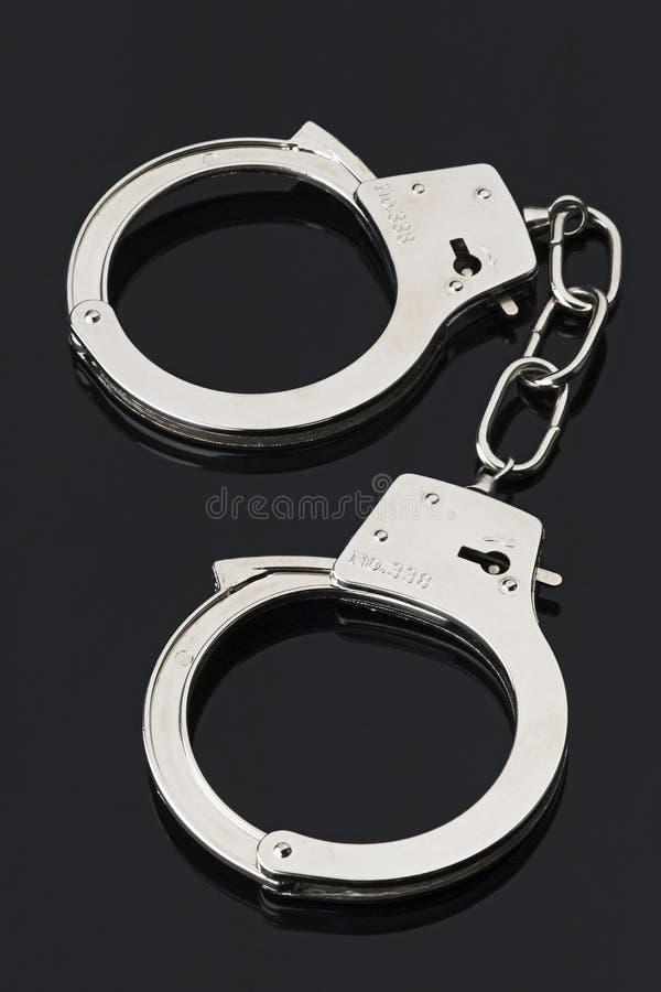 Handschellen stockbild