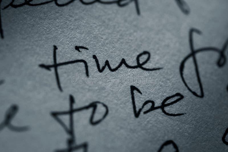 Handschrift lizenzfreies stockfoto