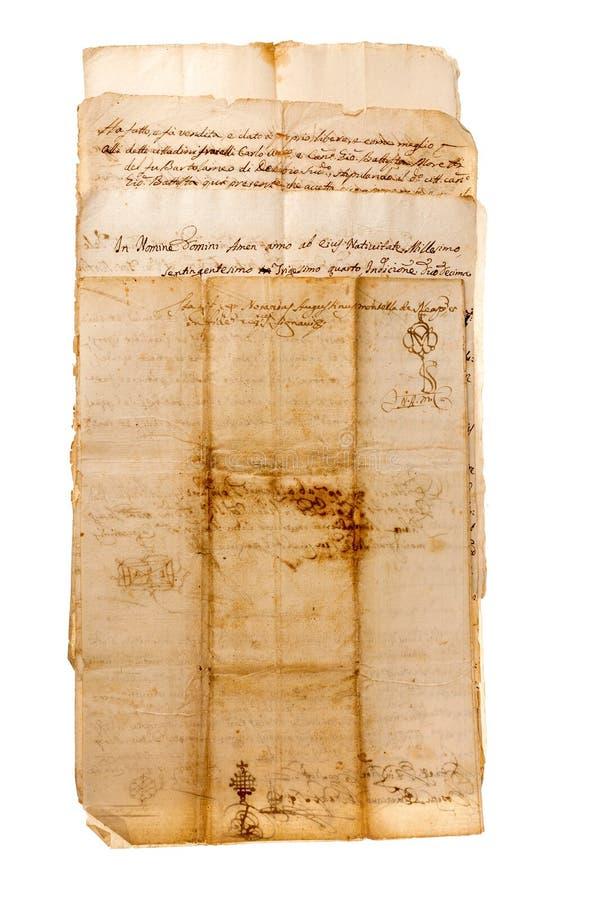 Download Handschriften stockbild. Bild von gekritzel, weinlese - 27728693