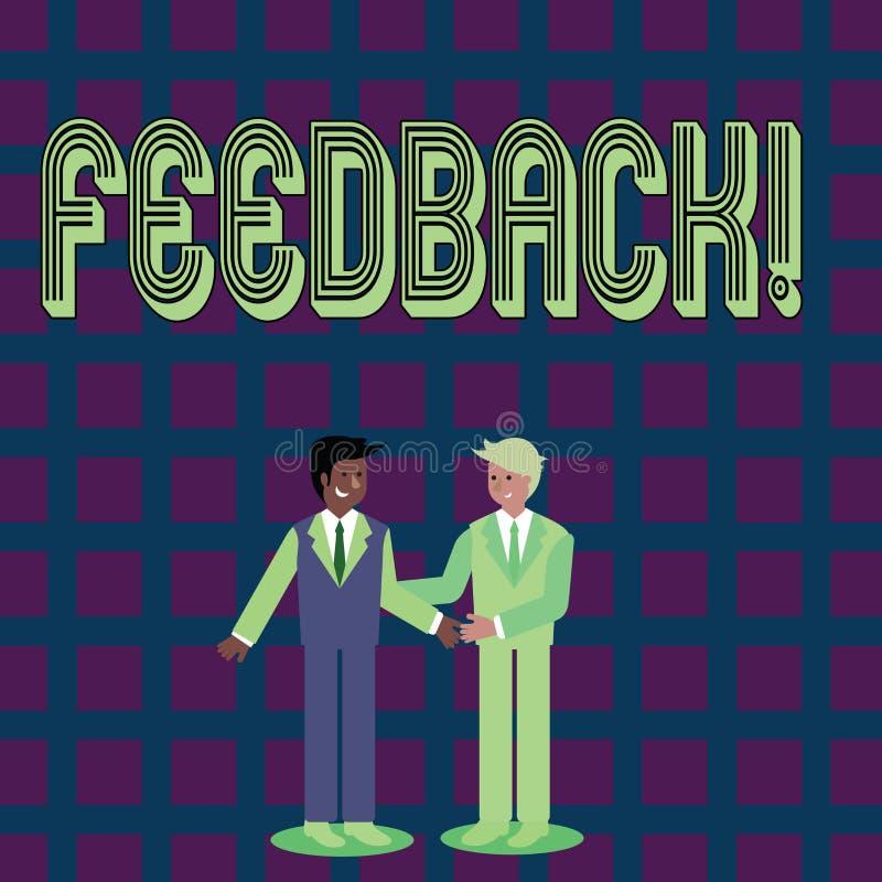Handschriftstext Feedback Konzeptbedeutung Bewertung ein wirtschaftlicher lokaler Gemischtwarenladen stock abbildung