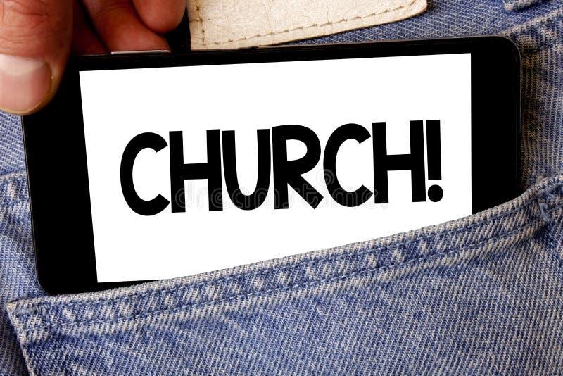 Handschriftstext Kirche Konzeptbedeutung Kathedralen-Altar-Turm-Kapellen-Moscheen-Schongebiet-Schrein-Synagoge-Tempel-Manngriff,  stockbilder
