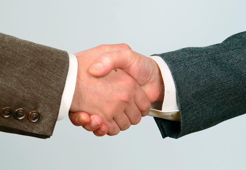 Handshake-2 stockbild