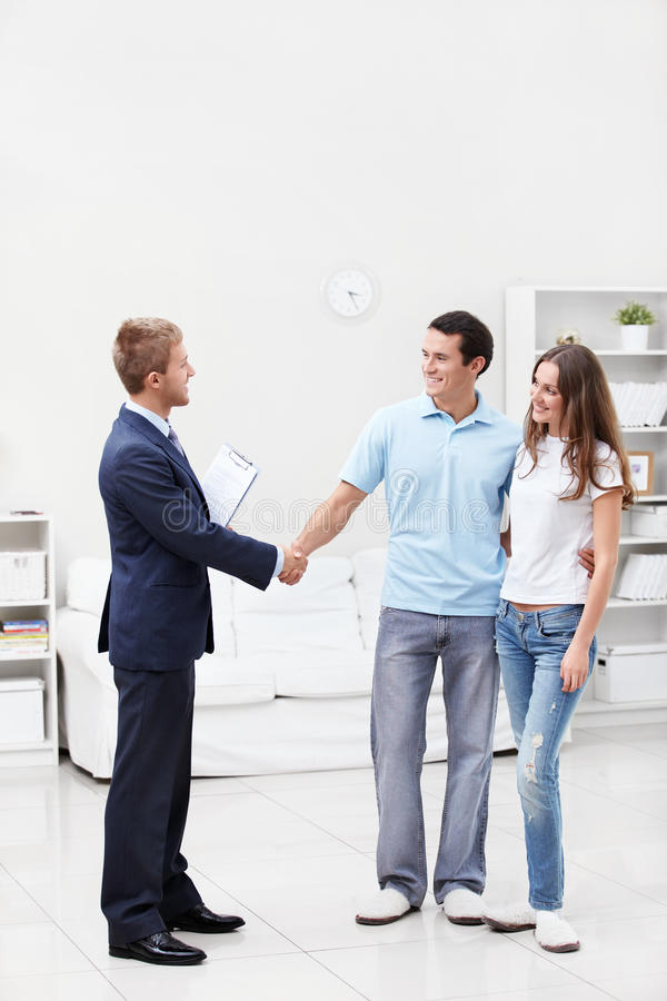 Download Handshake stock photo. Image of home, person, smiling - 23367836