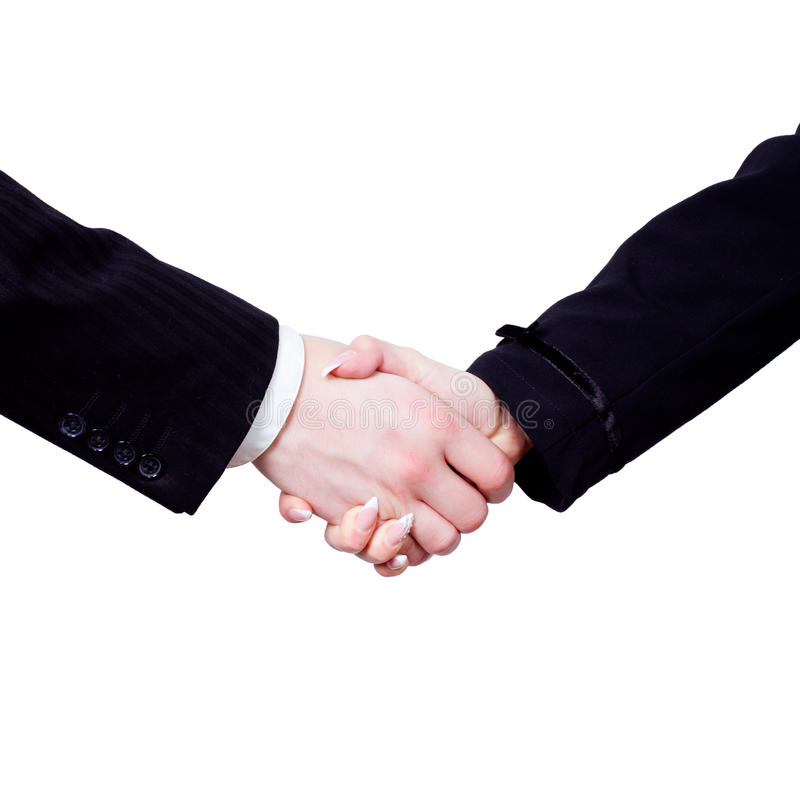 Download Handshake stock image. Image of adult, advancement, isolated - 24203729