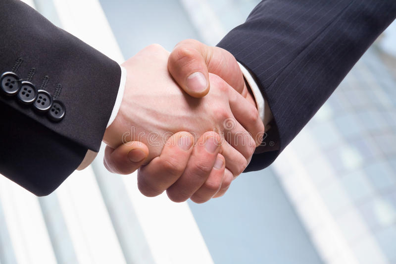 Download Handshake stock image. Image of business, closeup, force - 26663487