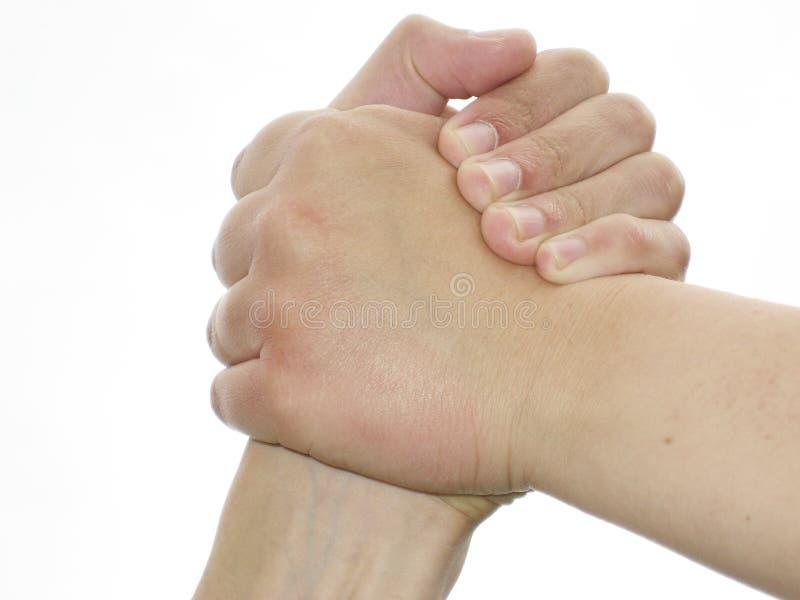 handshake royaltyfria bilder