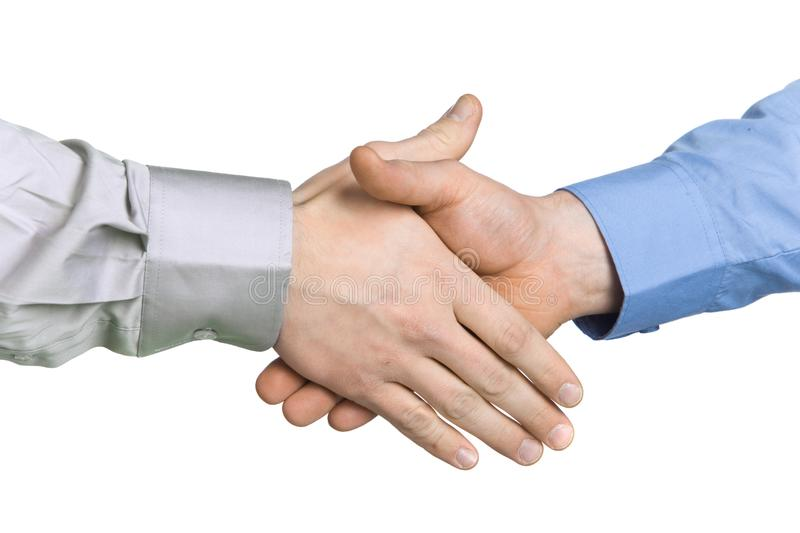 Handshake with a background stock images