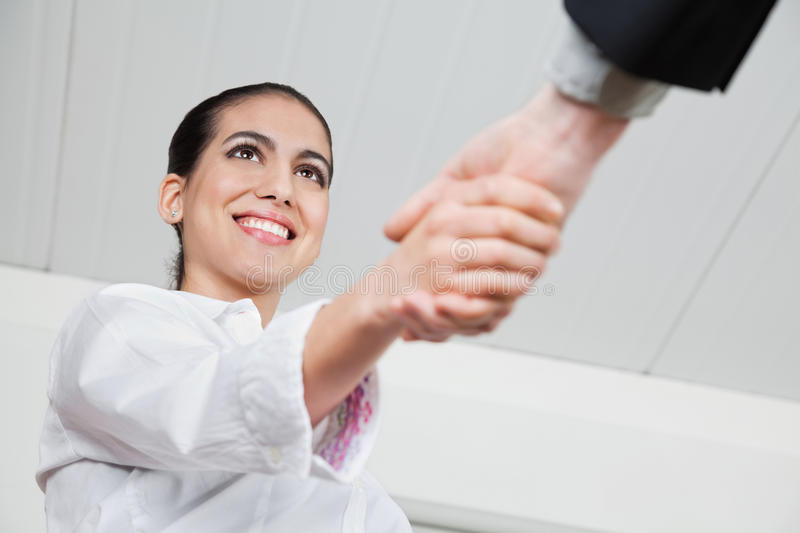 Download Handshake With Businesswoman Stock Images - Image: 27545264