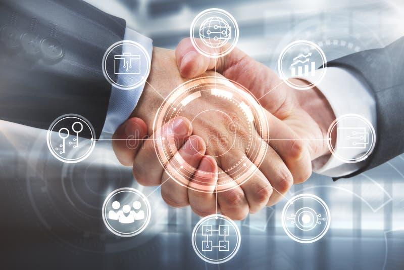 Finance and teamwork concept stock photos