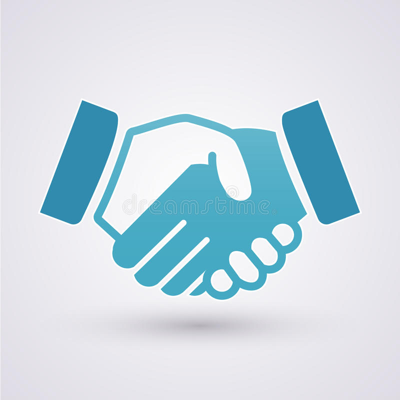 Handshake royalty free illustration