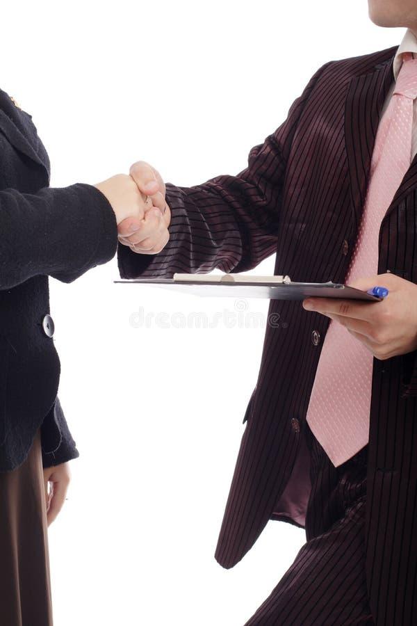 Handshake s royalty free stock photos