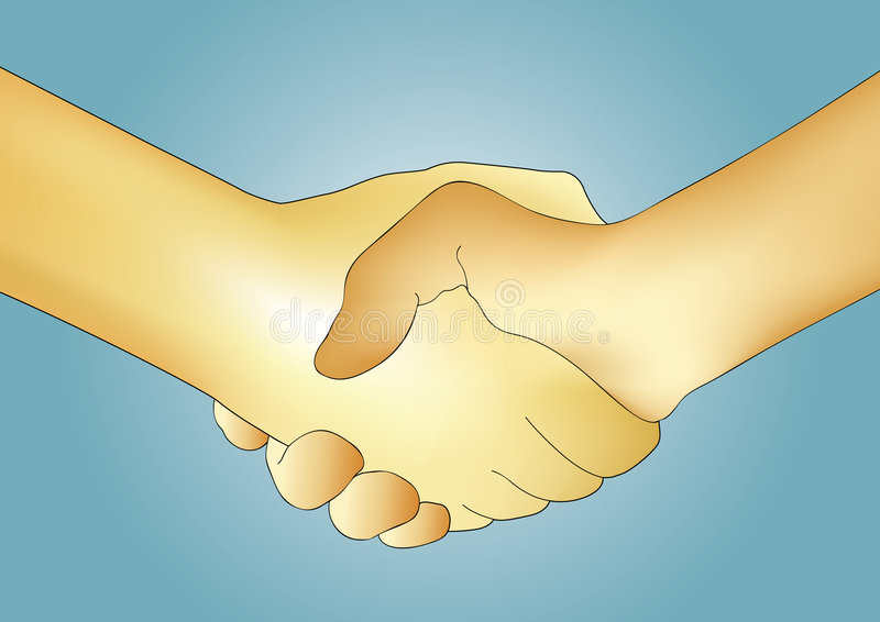 Download Handshake vector stock vector. Illustration of office - 4008884