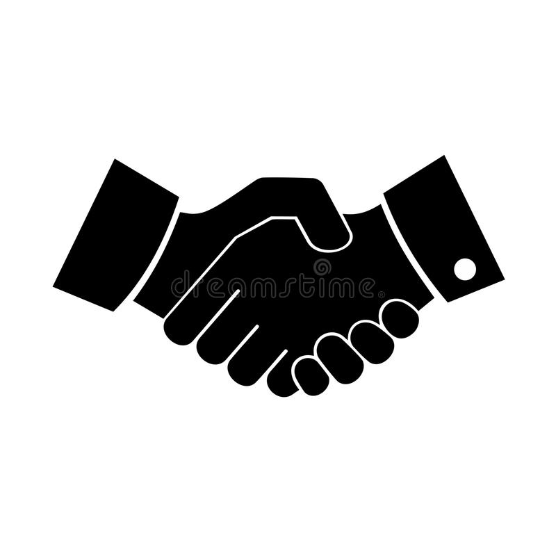 handshake vector design stock vector illustration of cooperation rh dreamstime com shaking hands vector image shaking hands vector woman